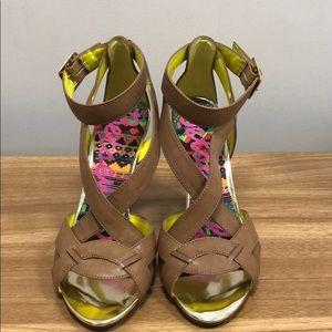 Like New Betsey Johnson Betseyville heels